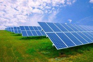Photovoltaikanlage produziert Ökostrom