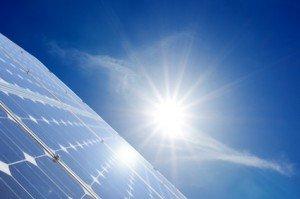 Solarstrom aus erneuerbaren Energien