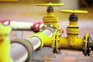Gasleitung der Gasversorger